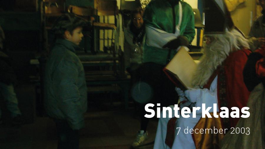 Sinterklaas (7 december 2003)