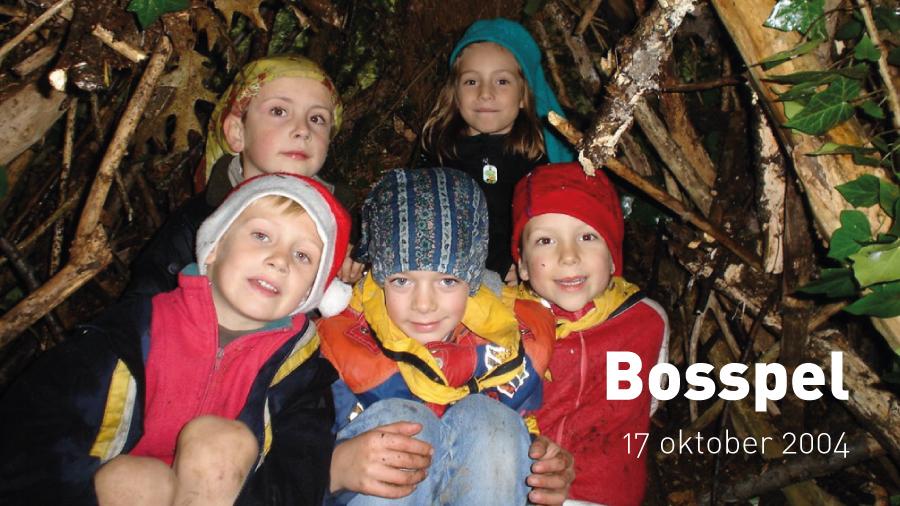 Bosspel met de Kapoenen (17 oktober 2004)