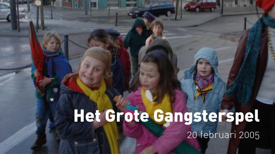 Het Grote Gangsterspel van de Kapoenen (20 februari 2005)