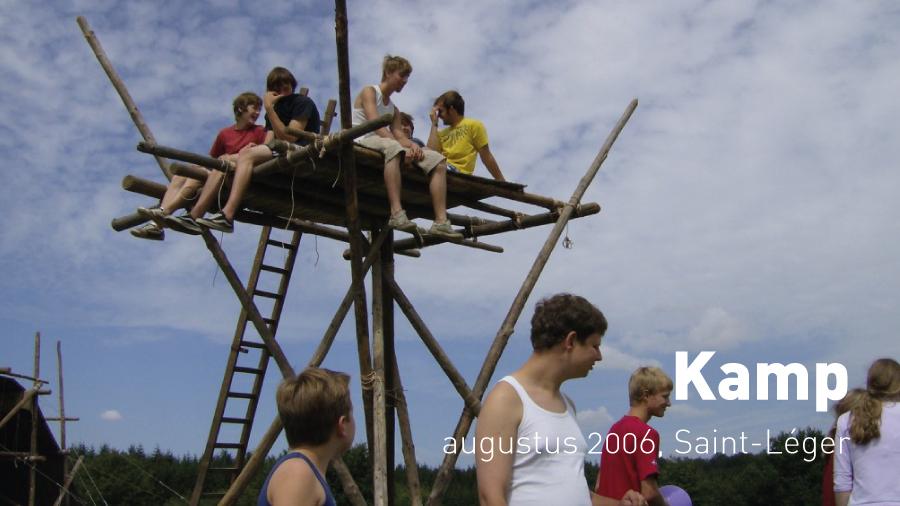 Kamp (augustus 2006, Saint-Léger)