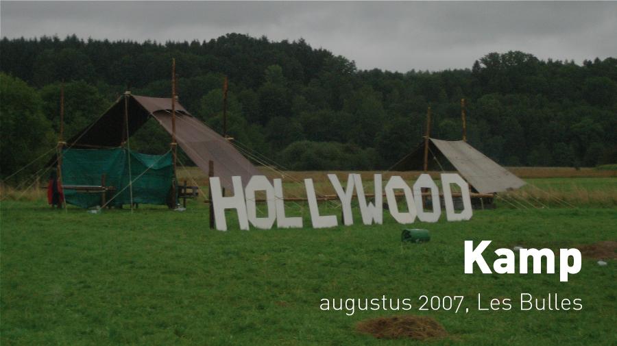 Kamp (Les Bulles, augustus 2007)