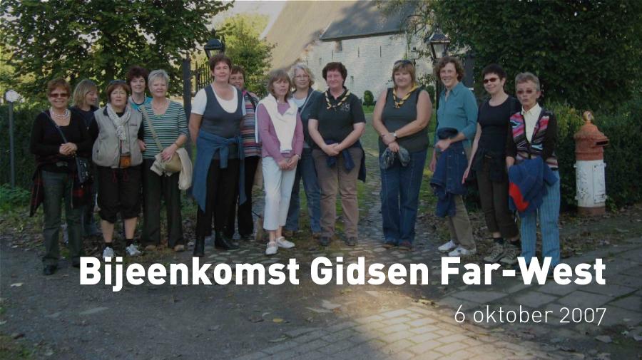 Bijeenkomst Gidsen Far-West (6 oktober 2007)