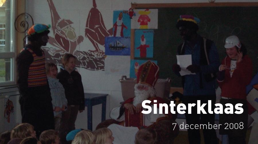 Sinterklaas (7 december 2008)