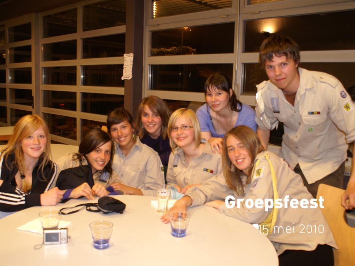 Groepsfeest (15 mei 2010)