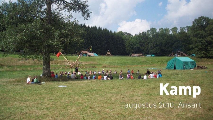 Kamp (augustus 2010, Ansart)