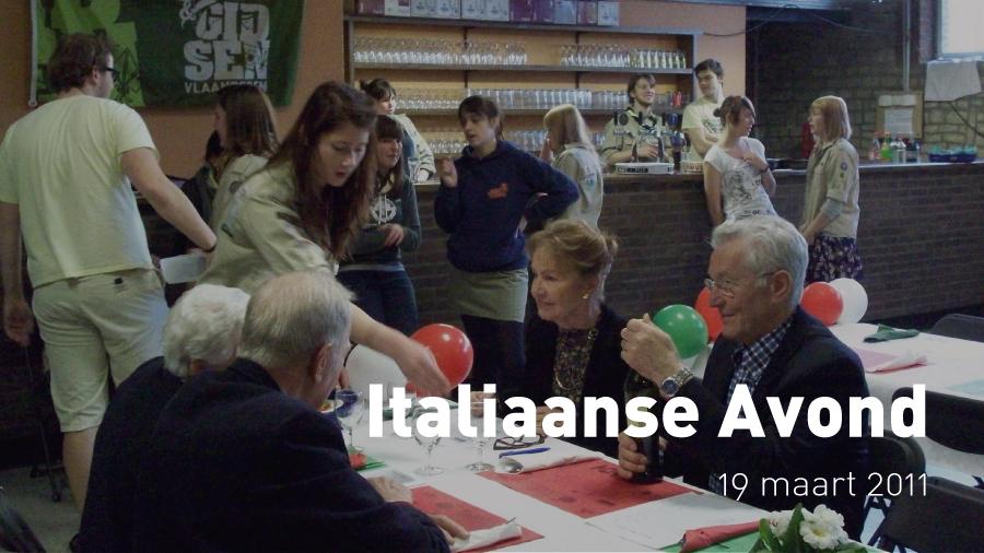 Italiaanse Avond (19 maart 2011)