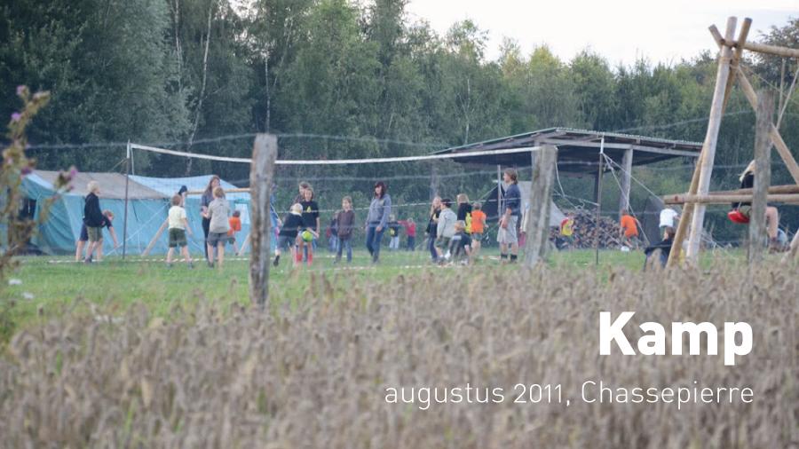 Kamp (augustus 2011, Chassepierre)