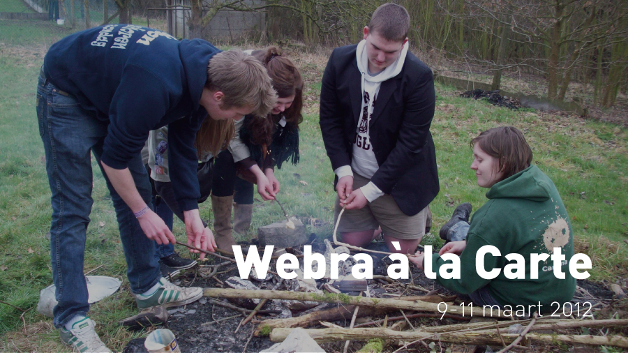 Webra à la Carte (9-11 maart 2012)