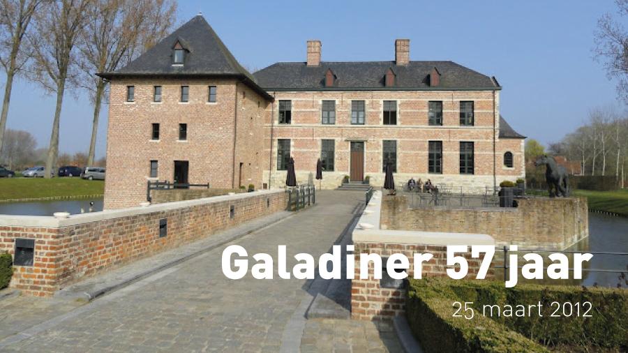 Galadiner 75 jaar (25 maart 2012)
