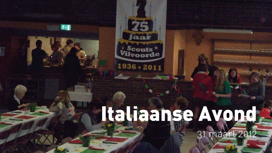 Italiaanse Avond (31 maart 2012)