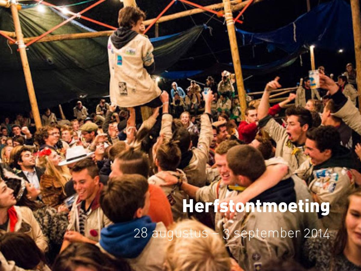 Herfstontmoeting (28 augustus - 3 september 2014)