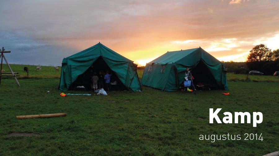 Kamp (augustus 2014)