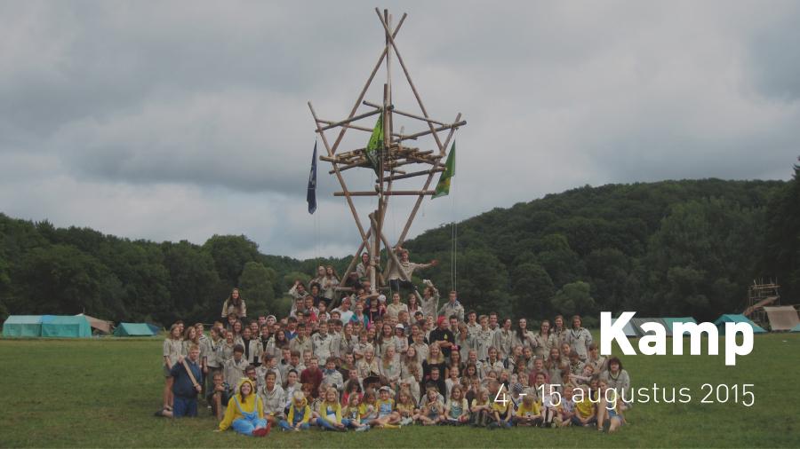 Kamp (4-15 augustus 2015)