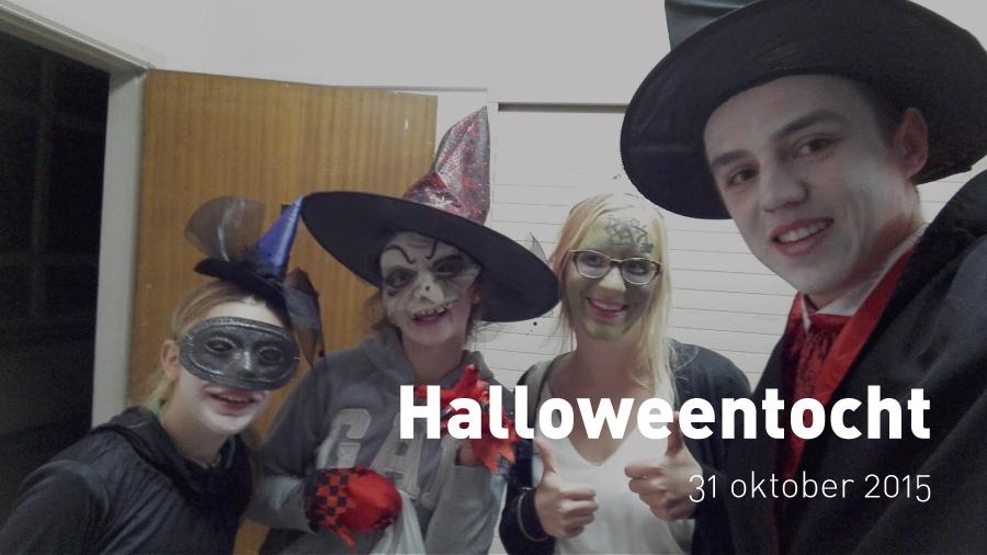 Halloweentocht (31 oktober 2015)