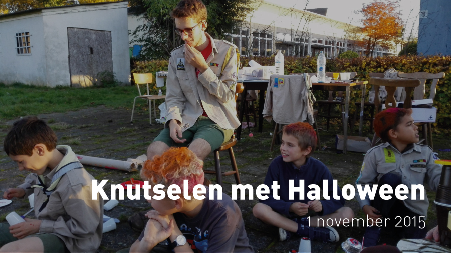 Knutselen met Halloween (1 november 2015)