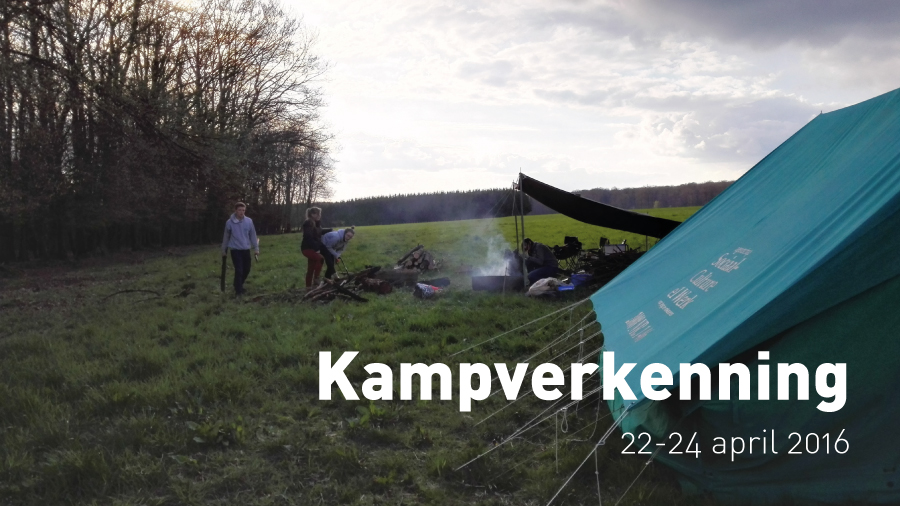 Kampverkenning (23 april 2016)