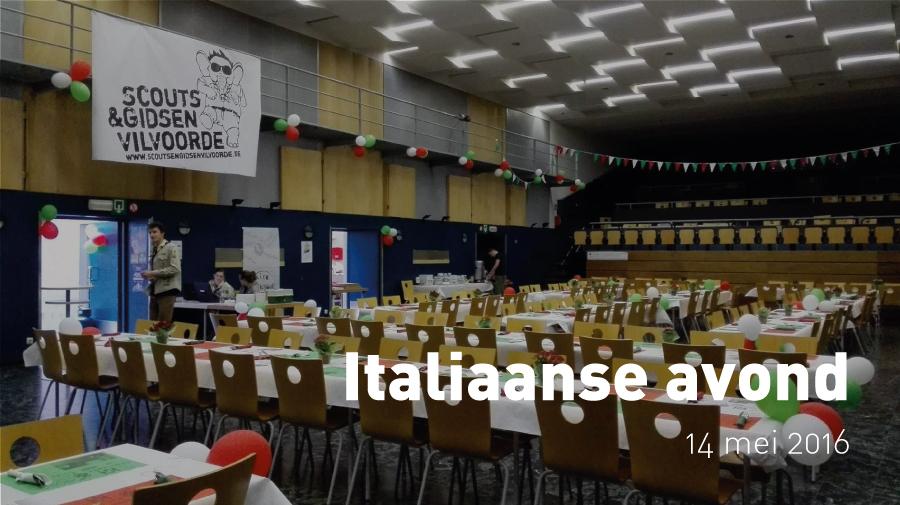 Italiaanse avond (14 mei 2016)
