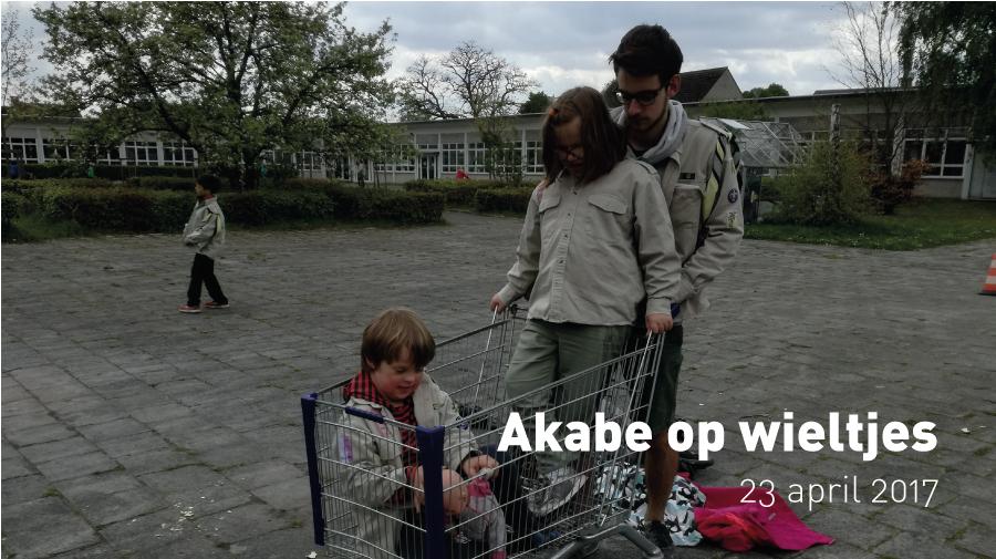 Akabe op wieltjes (23 april 2017)