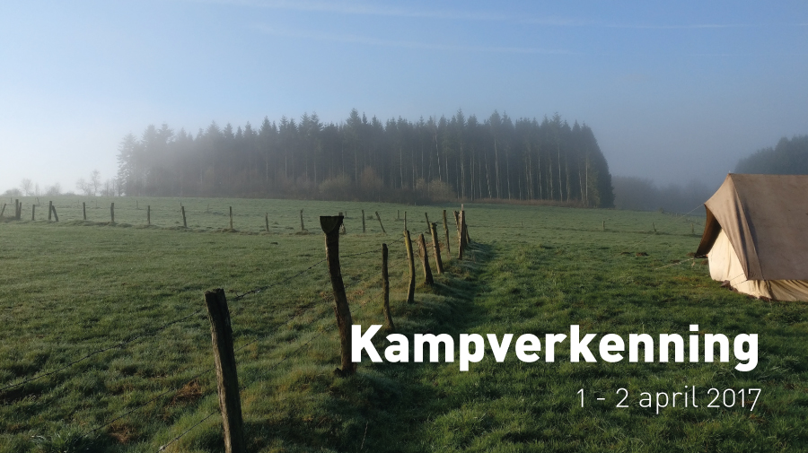 Kampverkenning (1 - 2 april 2017)