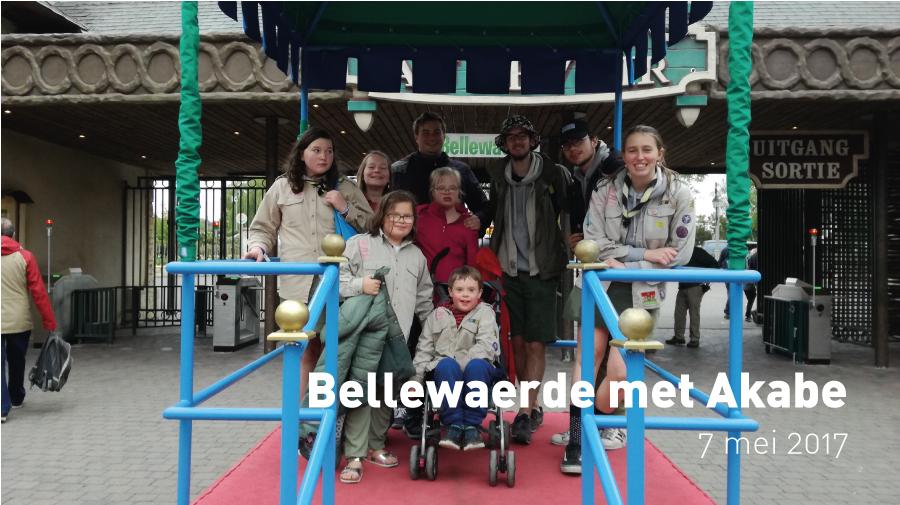 Bellewaerde met Akabe (7 mei 2017)
