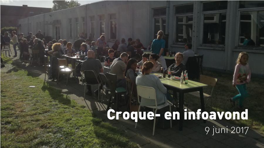 Croque- en infoavond (9 juni 2017)