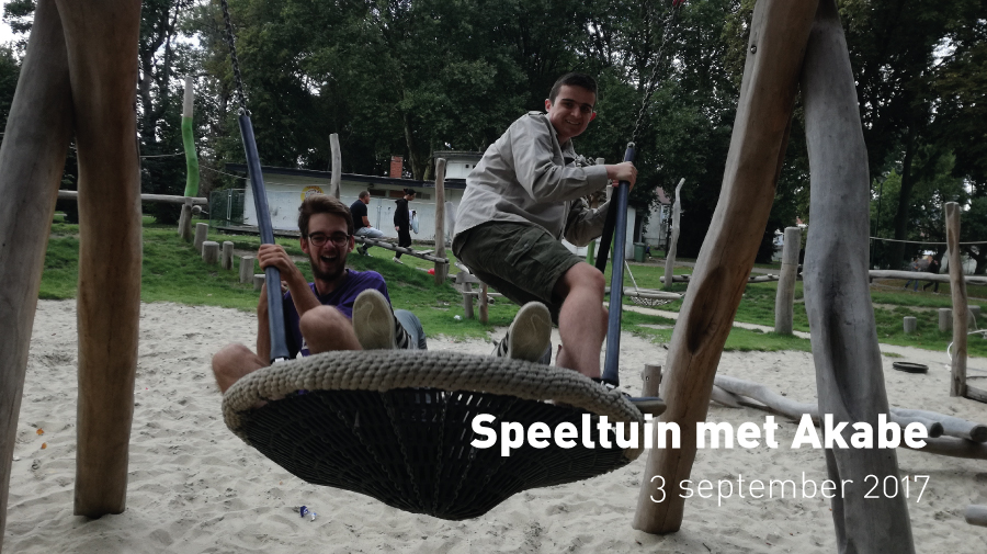 Speeltuin met Akabe (3 september 2017)