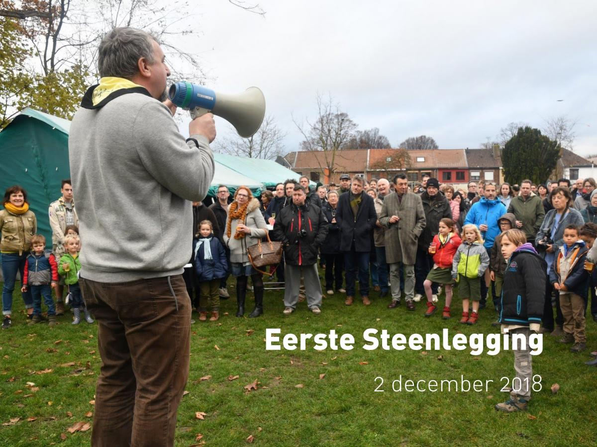 Eerste Steenlegging (2 december 2018)