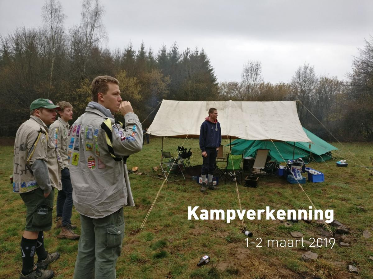 Kampverkenning (1-2 maart 2019)